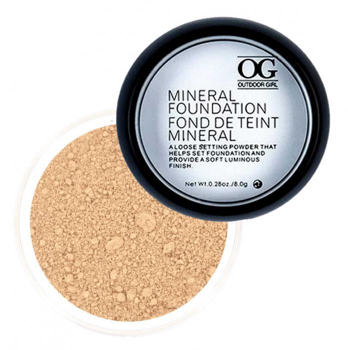 Pudra Minerala Fond De Ten Outdoor Girl 04 Ten Deschis