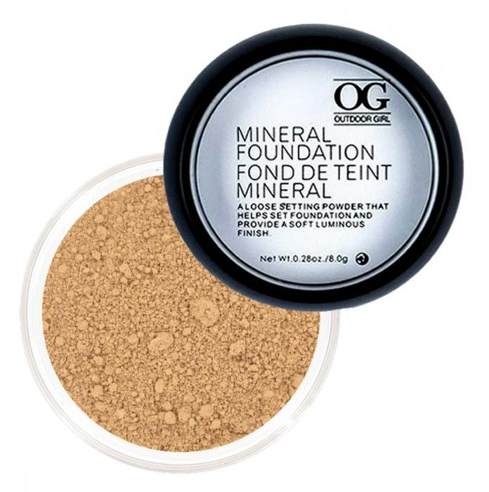 Pudra Minerala Fond De Ten Outdoor Girl 05 Ten Mediu