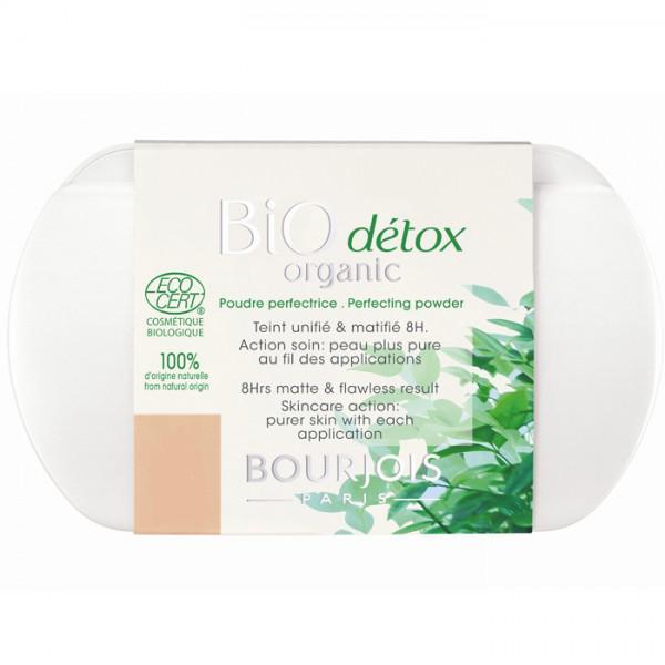 Pudra Compacta Bourjois BIO Detox Organic 52 Vanilla