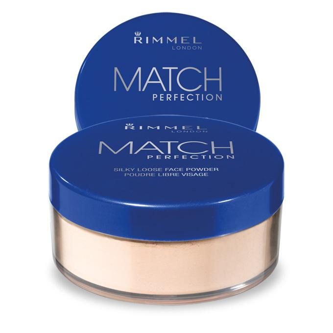 Pudra pulbere translucida RIMMEL Match Perfection Powder -  001 Transparent, 10g-big