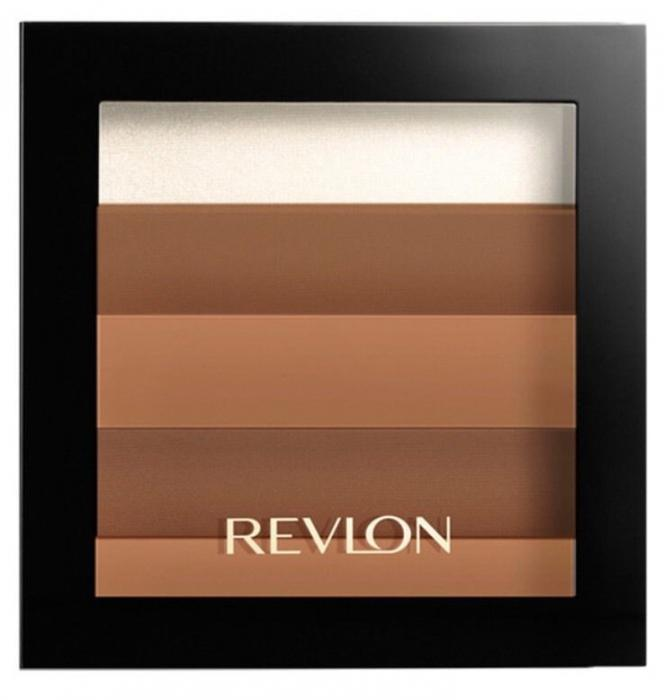 Paleta Iluminatoare pentru conturare REVLON Highlighting Desert Bronze