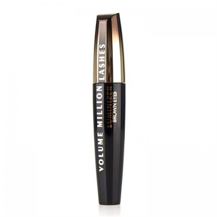 Rimel L'oreal Volume Million Lashes Luminizer Brown Eyes- Negru Intens-big
