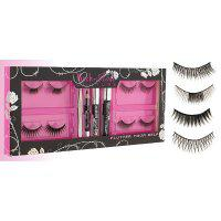 Set 4 perechi de Gene False Royal Rock'n Rose Couture Flutter Yourself-big
