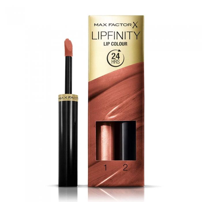 Ruj de buze rezistent la transfer Max Factor Lipfinity 191 Stay Bronzed 2.3 ml 1.9 g