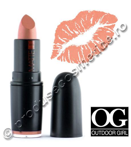 Ruj Mat Outdoor Girl Matte Lip 309 Light Teracotta