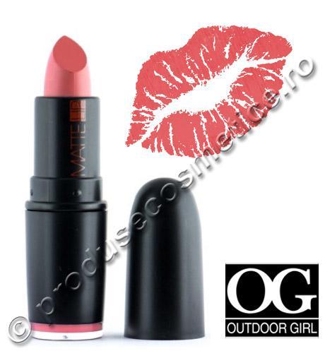 Ruj Mat Outdoor Girl Matte Lip 314 Teracotta Peachy