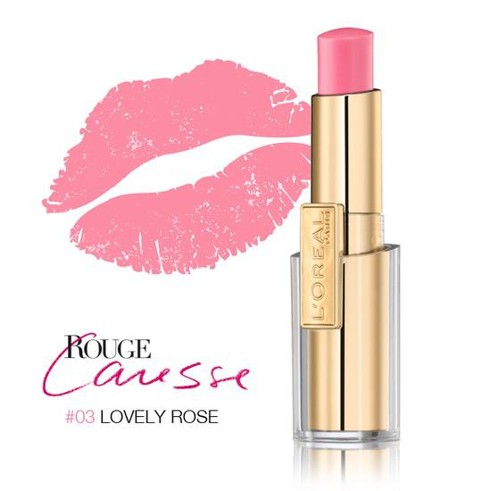 Ruj L'oreal Caresse - 03 Lovely Rose-big