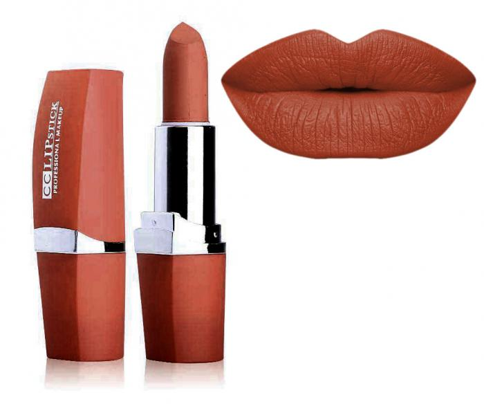 Ruj Mat Profesional Kiss Beauty CC Lips 15 Nude For Queen