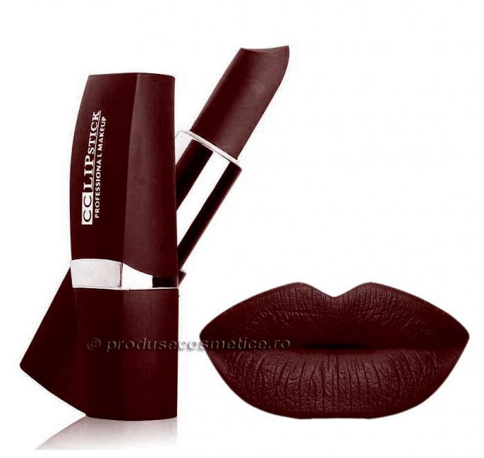 Ruj Mat Profesional Kiss Beauty CC Lips 21 Merlot