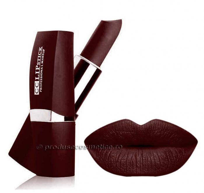 Ruj Mat Profesional Kiss Beauty CC Lips 22 Rich Wine