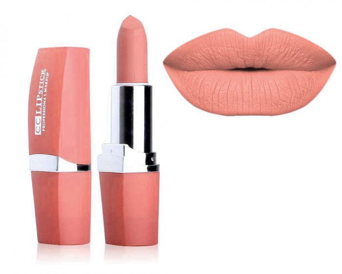 Ruj Mat Profesional Kiss Beauty CC Lips 2 Classy Nude