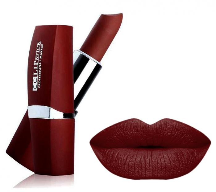Ruj Mat Profesional Kiss Beauty CC Lips 7 Perfect Wine