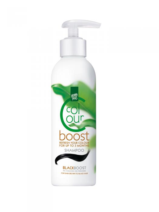 Sampon HennaPlus Colour Boost Black - 200 ml-big