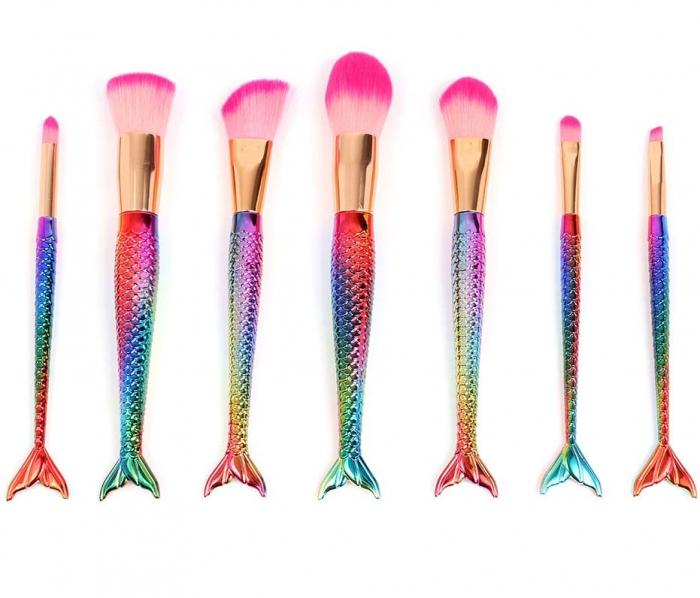 Set 7 Pensule Profesionale de tip SIRENA Magical Mermaids Pink Adventure
