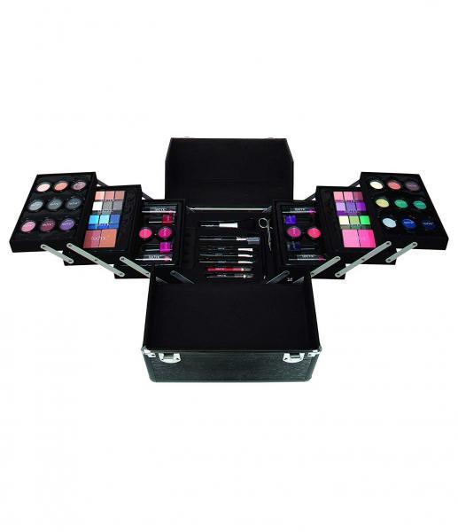 Set complet pentru Machiaj cu Geanta de Makeup TECHNIC Large Professional Beauty Case