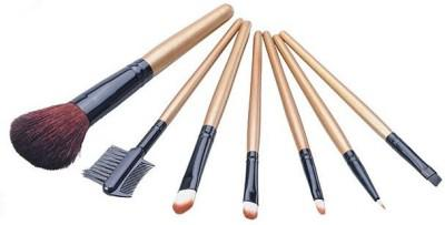 Set 7 Pensule Profesionale Luxury pentru Machiaj Wood Addicted