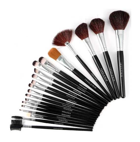 Set De 20 Pensule Profesionale Fraulein38 - Black Desire