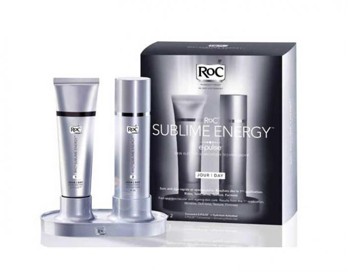 Set Ingrijire de ZI pt Reintinerire RoC Sublime Energy E Pulse 2x30ml
