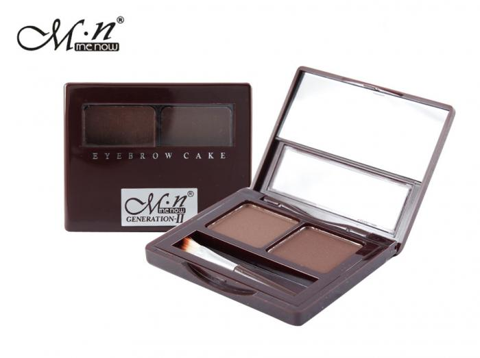 Kit de Sprancene MeNow Generation II Eyebrow Cake 02 Medium