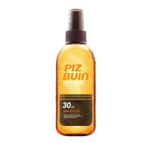 Spray Protectie Solara PIZ BUIN Wet Skin 150 ml cu SPF 30
