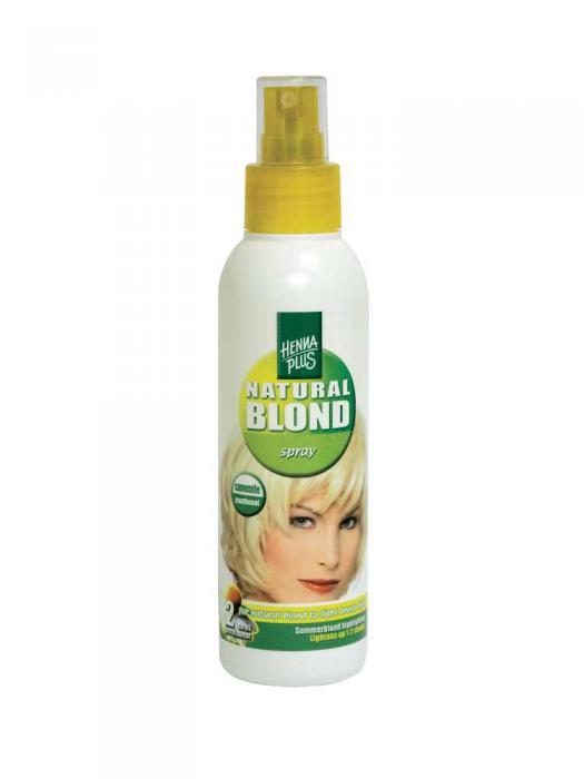 Spray cu Musetel HennaPlus pentru Par Blond - 150 ml