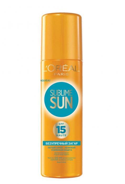 Spray Cu Protectie Solara Loreal Sublime Sun SPF15 200 ml