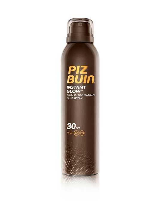 Spray Pentru Evidentierea Bronzului cu efect de iluminare PIZ BUIN Instant Glow SPF 30 150 ml