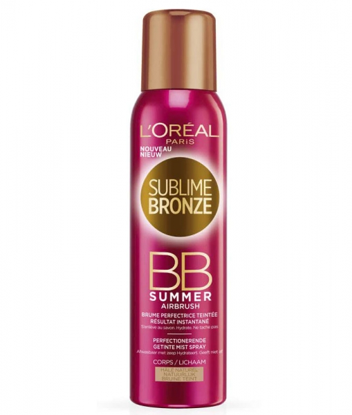Spray Autobronzant Corector L Oreal Sublime Bronze Bb Summer Airbrush 150 Ml