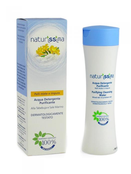 Spuma De Curatare Naturissima Pentru Tenul Mixt Si Acneic 200 ml