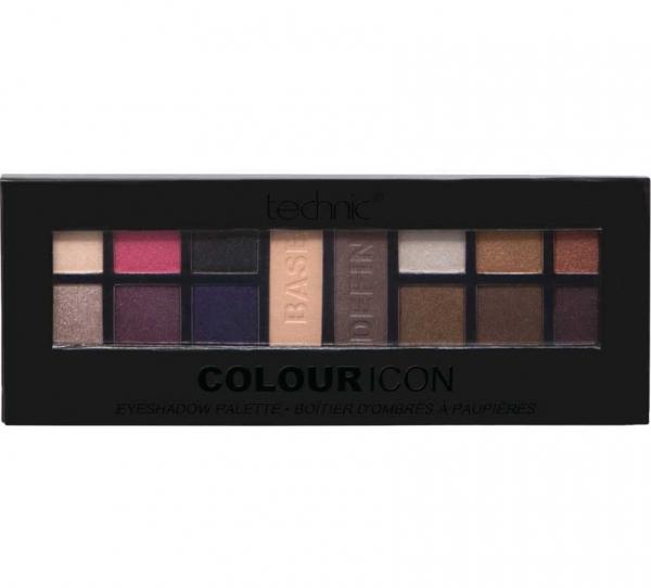 Paleta Profesionala Cu 14 farduri Technic Colour Icon Eyeshadow Palette