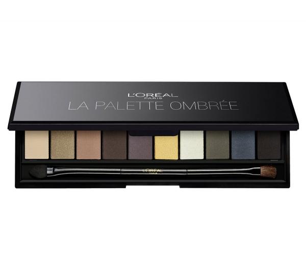 Trusa Cu 10 Farduri L OREAL Color Riche La Palette Ombree Smokey Black 7 gr