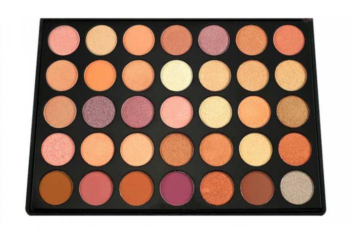 Trusa Profesionala de Farduri cu 35 Nuante Pigmentante Autumn Colors P35 4