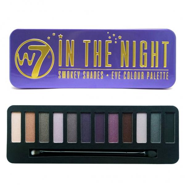 Trusa Profesionala cu 12 Farduri W7 Smokey Shadows In The Night