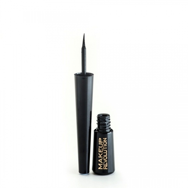 Tus De Ochi Lichid Makeup Revolution Ultra Black, 3 ml-big