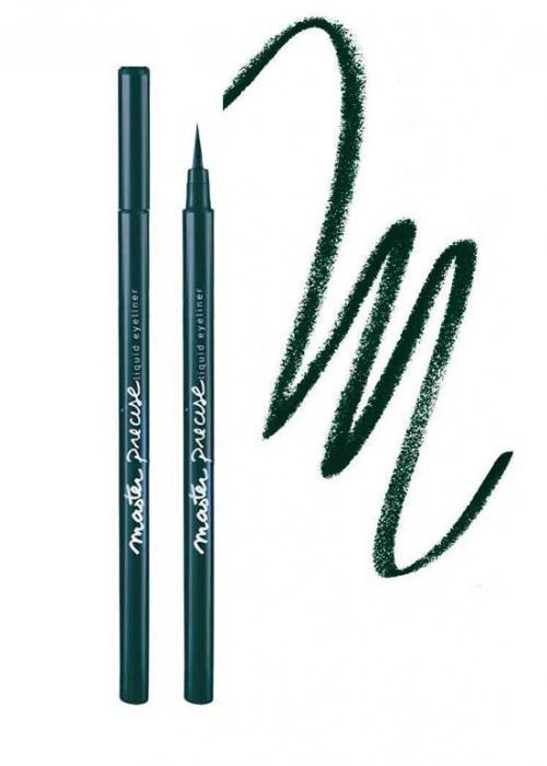 Tus De Ochi Lichid Maybelline Master Precise Jungle Green