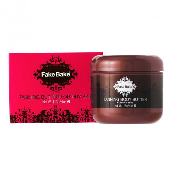 Unt de Corp Autobronzant FAKE BAKE Tanning Body Butter For Dry Skin 113 gr
