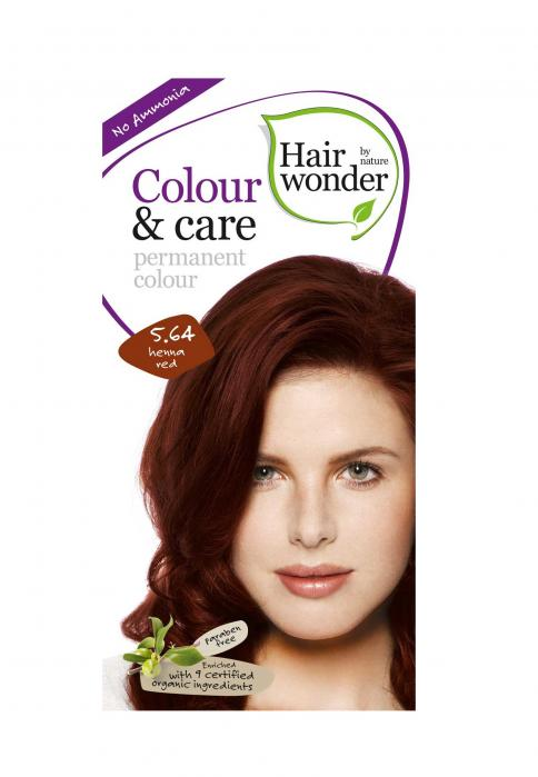 Vopsea De Par Fara Amoniac HennaPlus Hair Wonder 5.64 Red