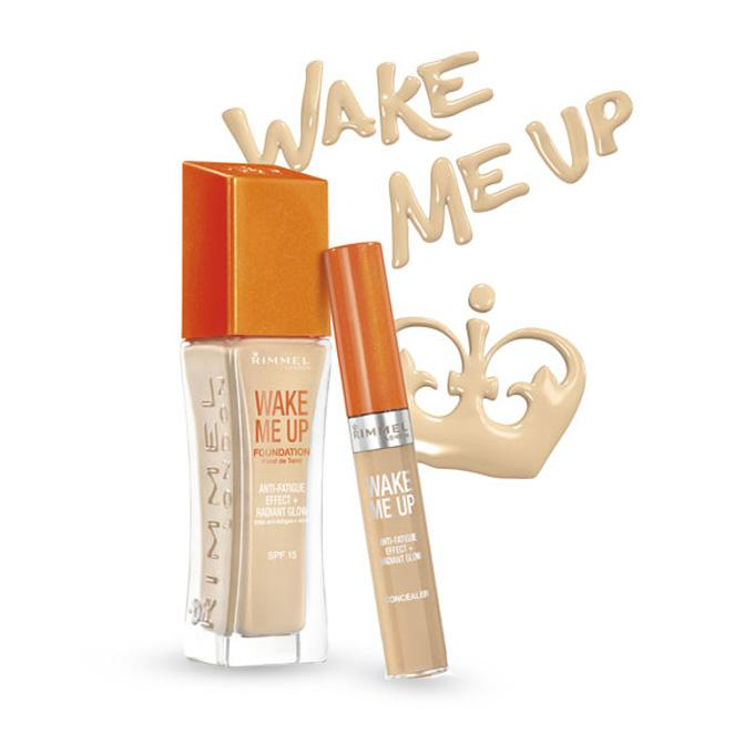 Fond de Ten Rimmel Wake Me Up - 200 Soft Beige-big