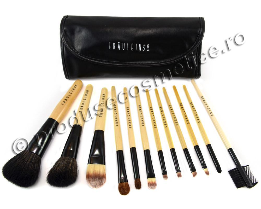 Set De 12 Pensule Profesionale Fraulein38 Premium