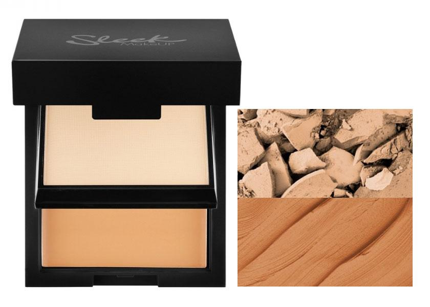 Fond De Ten Compact Si Pudra Sleek Base Duo Kit - 337 Bamboo