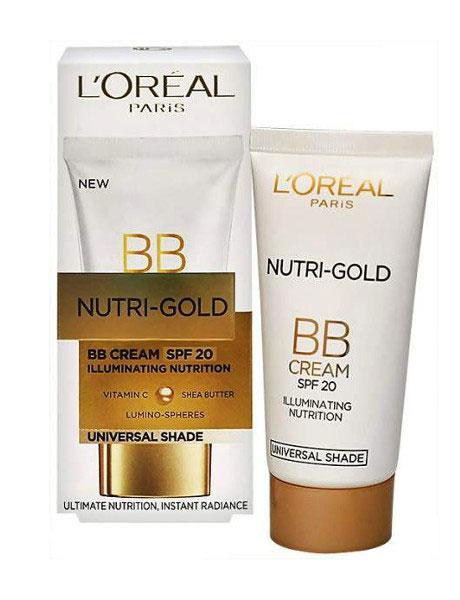 Bb Cream Iluminator Loreal Nutri Gold Pentru Ten M