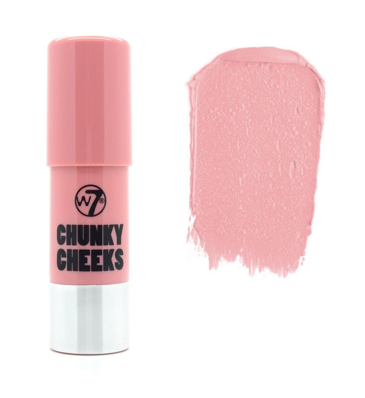 W7 Chunky Cheeks - New York - Blush Cremos Rezistent La Transfer
