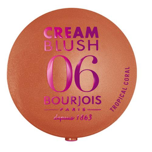 Fard De Obraz Cremos Bourjois Cream Blush Sun - 06 Tropical Coral