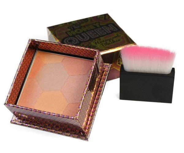 Blush Iluminator W7 The Honey Queen Cu Particule Irizante