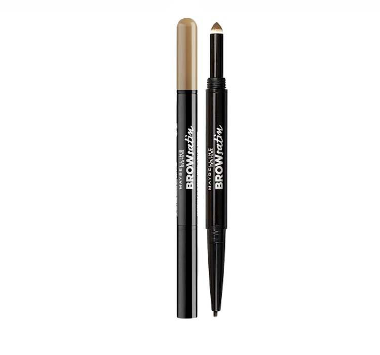 Creion Duo Pentru Sprancene Maybelline Brow Satin