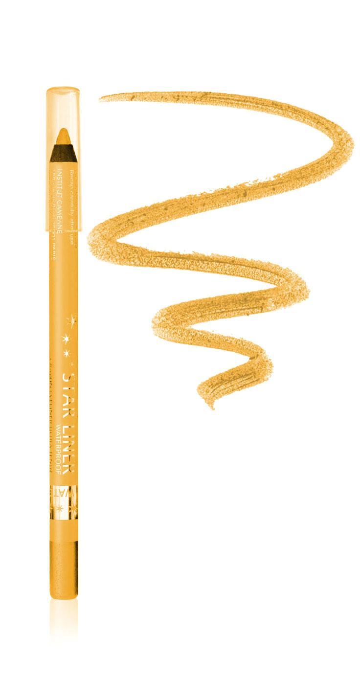 Creion Iluminator Waterproof Cu Irizatii Aurii Arc