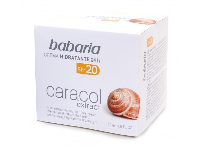 Crema Hidratanta Babaria Cu Extract De Melc Cu Spf