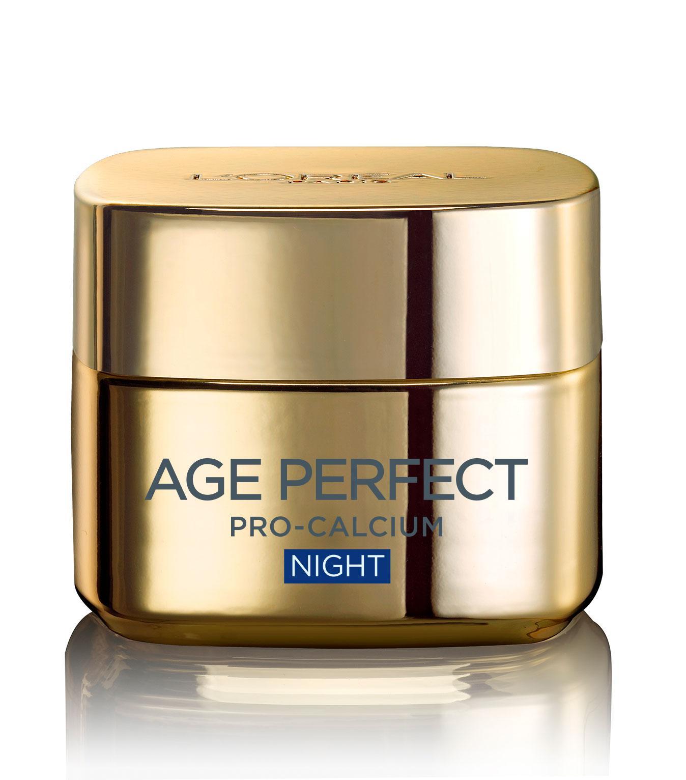 Crema De Noapte Pentru Tenul Matur Loreal Age Perfect Pro Calcium