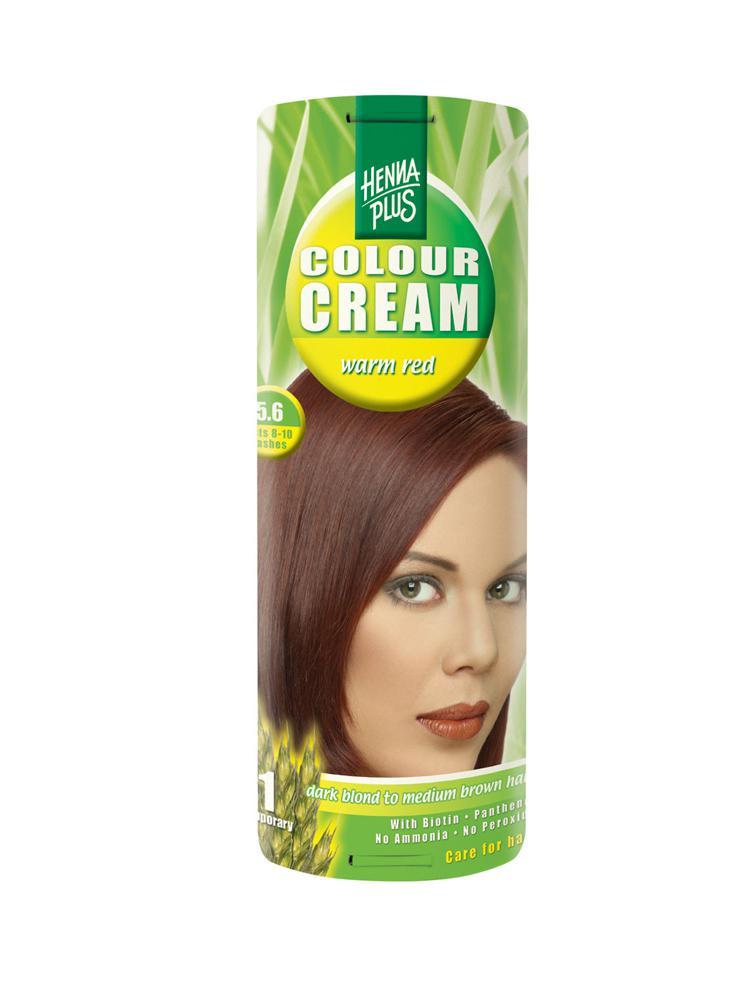 Crema Nuantatoare De Par Hennaplus Colour Cream -