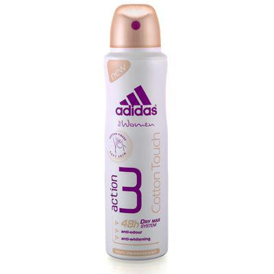 Deodorant Spray Adidas Deo Cotton Touch 3 Action -